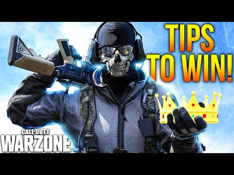 Call Of Duty WARZONE: WIN MORE GAMES With These KEY TIPS! (WARZONE Tips & Tricks)