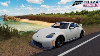 Nissan 350z on g25 Forza Horizon 3 Gameplay