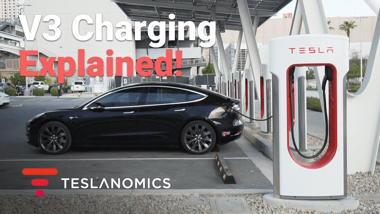 How Long Does A Tesla Take To Charge >> Tesla V3 Charging Explained