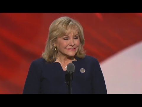 Gov. Mary Fallin RNC full Speech.  July 21, 2016.  Republican National Convention  Cleveland, Ohio.