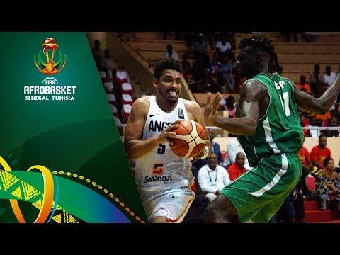 Angola v Central African Republic - Highlights - FIBA AfroBasket 2017