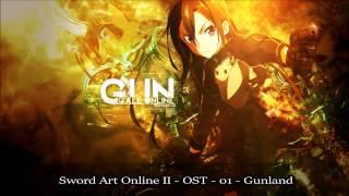 Sword Art Online II OST - Gunland ソードアート・オンライン