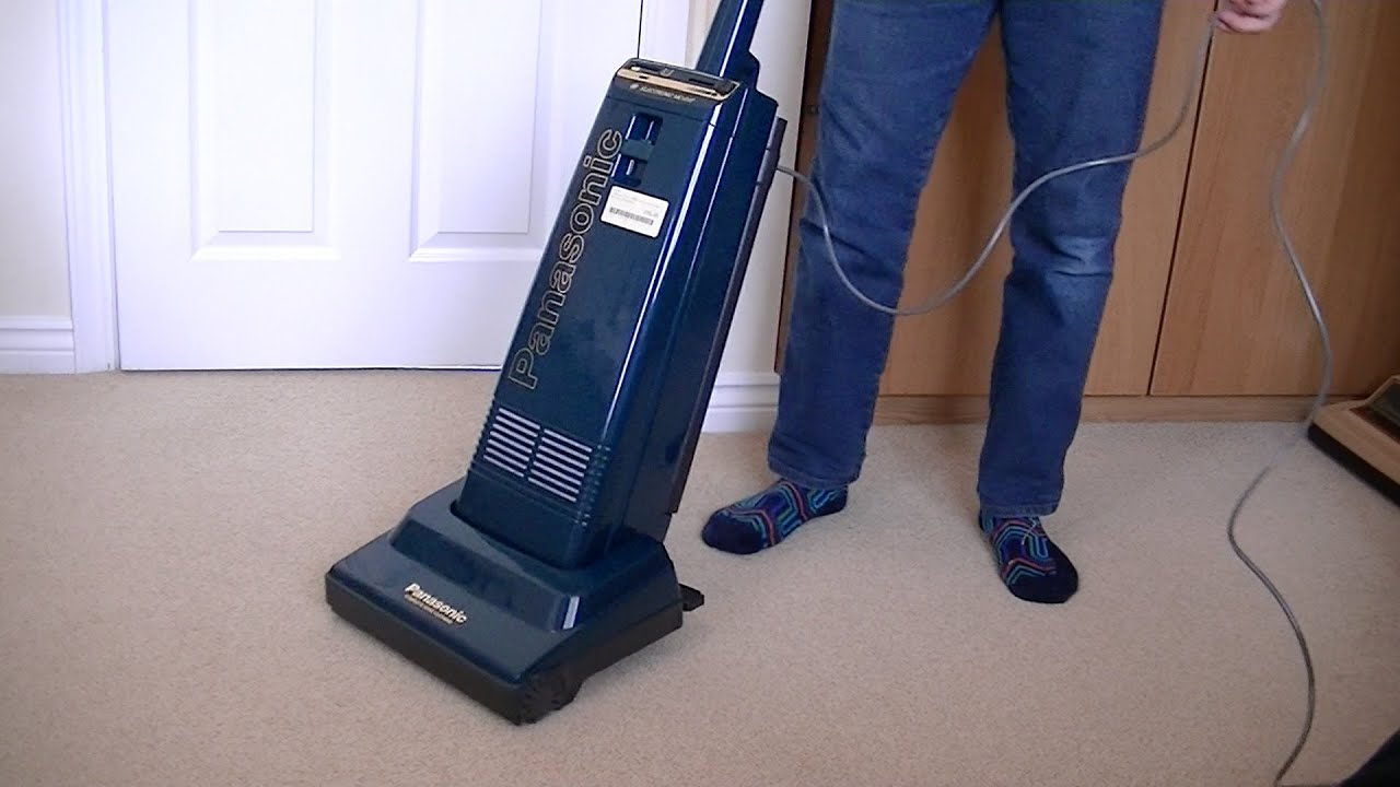 Panasonic Mc E47 Upright Vacuum Cleaner Unboxing Amp First