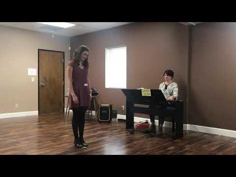 Megan Erickson Little Mermaid Audition 2018