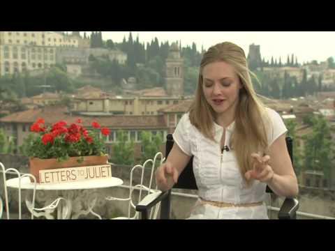 Amanda Seyfried talks Dominic  screen kissing!