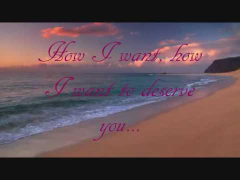 Bette MidlerTo Deserve You original with lyrics