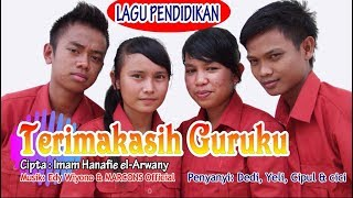 Download lagu Terimakasih Guruku | Lagu Pendidikan | Official Music of MARCONS | Dedi, Cici,  Yeli & Cipul