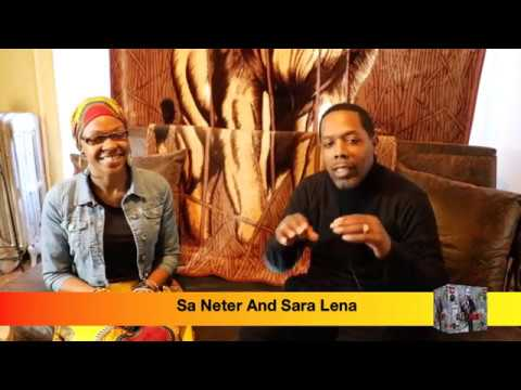 Sara Lena: Message To The Black Woman / Molestation And Tampons Are Not Good For The Sister