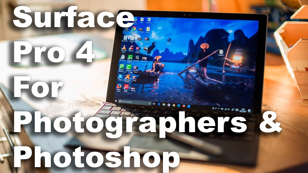 surface pro 4k video editing