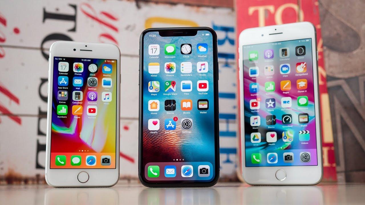 iphone x vs iphone 8 plus movilcelular