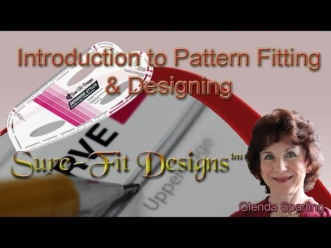 How to Draw a Basic Pattern - Fitting & Designing with Sure-Fit Designs