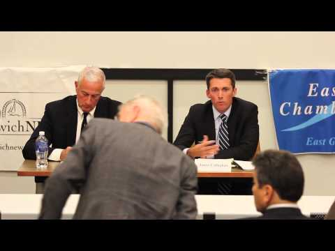 EG News Debate between R.I. Senate Candidates James Callaghan and Mark Gee on Monday, Oct. 20, 2014.