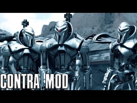 Contra Mod - Robotic Uprising 2vs1 Gameplay