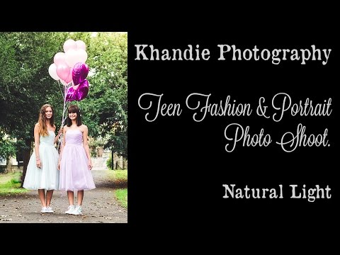 Teen Fashion and Portrait Shoot 50mm lens Natural light