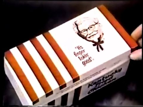 Kentucky Fried Chicken 'Office Song' Commercial (1975)