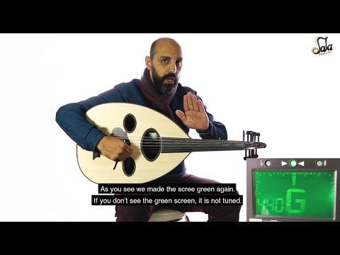 how to tune an arabic oud | learn oud tuning | oud lesson