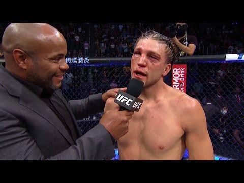 UFC 266: Brian Ortega Octagon Interview