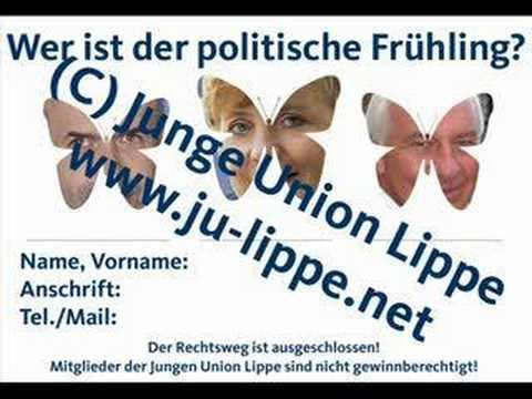 Wählt den politischen Frühling Junge Union Lippe