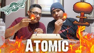 HOTTEST WINGS AT WINGSTOP CHALLENGE (ATOMIC)