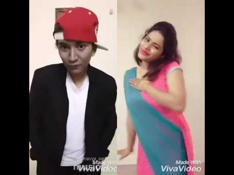 Kariya I Love You Kannada Song Dubsmash by Shwetha and Navya