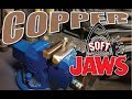 Copper Soft Jaws for a Bench VICE