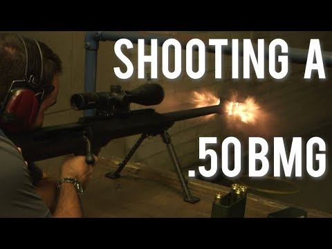 Shooting A .50 BMG