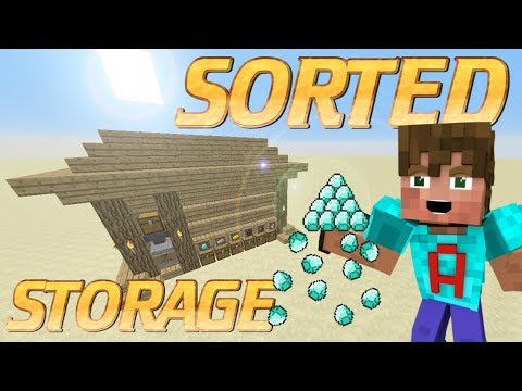 How To Make An Item Sorter In Minecraft