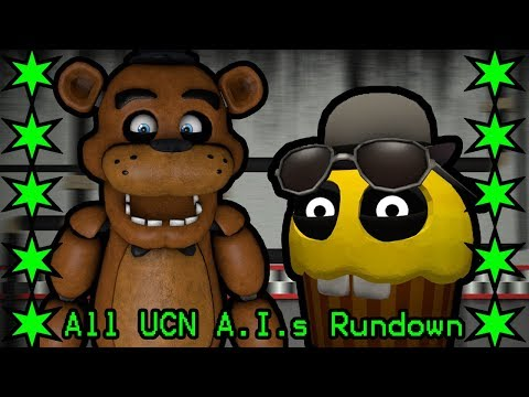 All FNAF 6 Ultimate Custom Night A.I.s Rundown!!! thumbnail