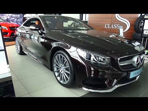 2016 Mercedes-Benz S500 Coupe 4Matic. Обзор (интерьер, экстерьер, двигатель).