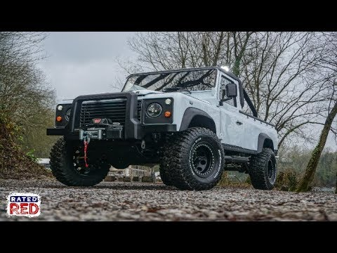 """Mod Madness: Akonik's """"Orca"""" Land Rover Defender 110"""