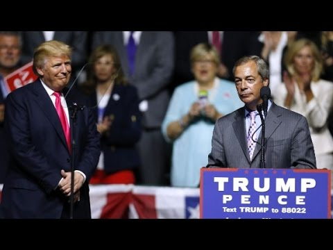 Nigel Farage: I wouldn't vote Clinton if she paid me