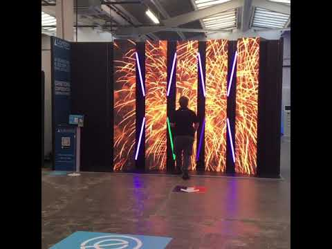 Event Tech Live 2019 Exhibition Stand London Audio Visual LED - Rental & Hire