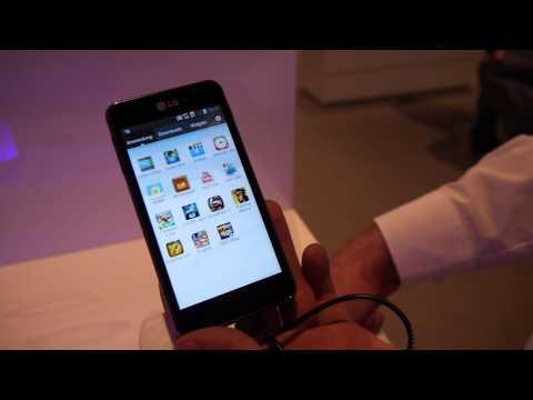 LG Optimus F5 Hands On