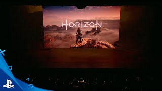 Horizon Zero Dawn- E3 2016 Days Gone Moments | PS4