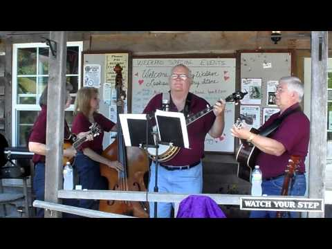 Midnight Ramblers String Band play Dear Old Dixie on the Front Porch at Big Walker