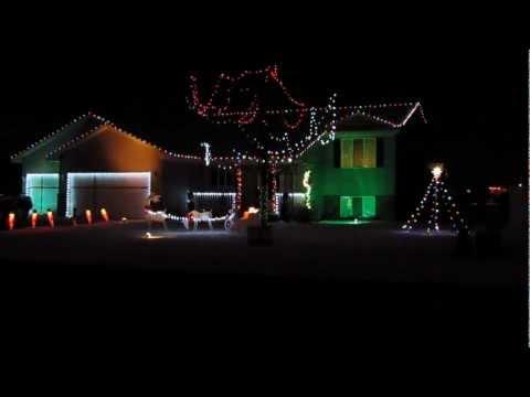 Skyrim Theme with Christmas Lights