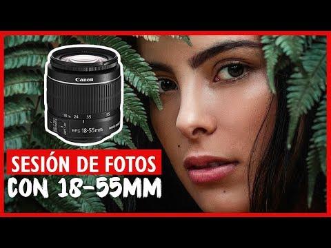 Como hacer BUENAS FOTOS con el LENTE 18 - 55MM | Sesión De Fotos Con 18-55 mm