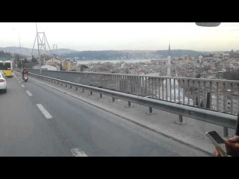 Bosphorus Bridge /European-Asian Istanbul/