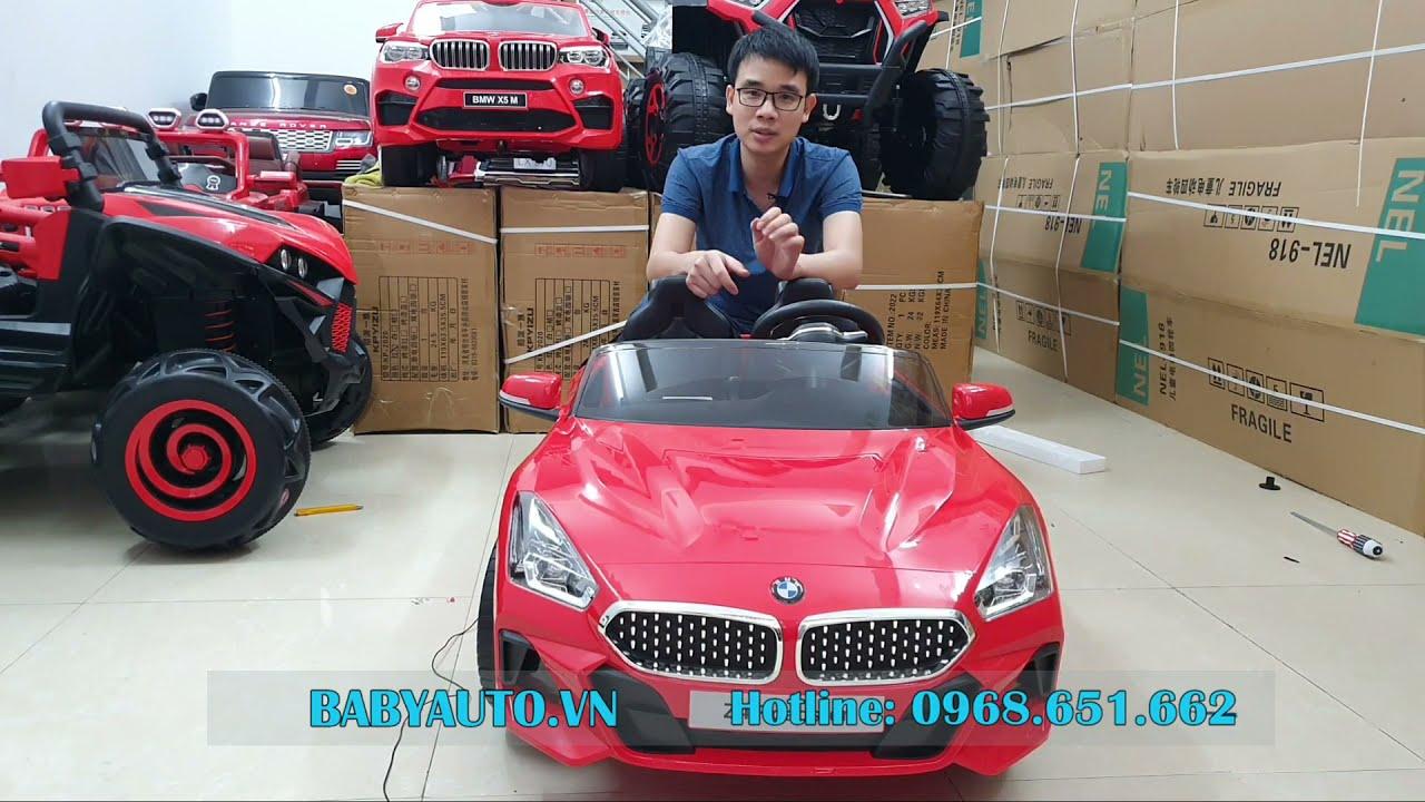 Hướng dẫn sử dụng xe ô tô điện trẻ em BMW Z4 bản quyền