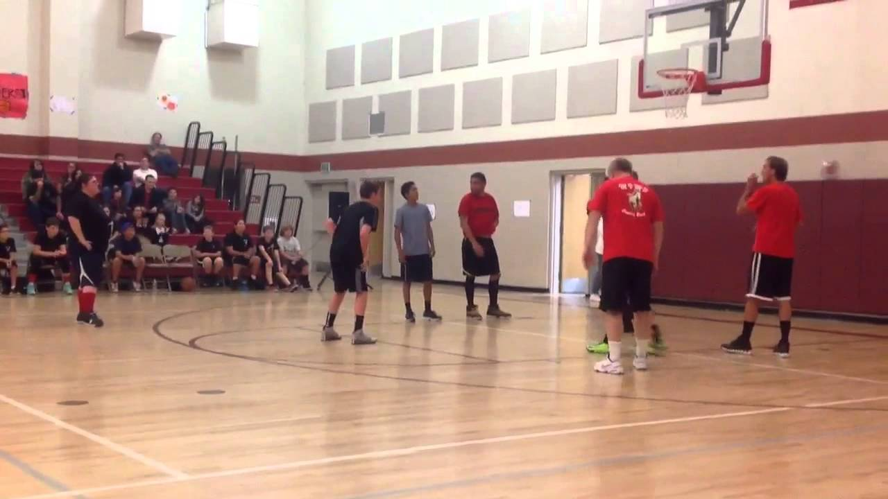 Mesa View Middle School Basketball Game 2014  YouTube