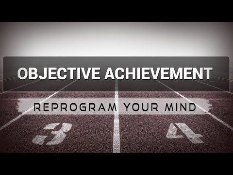 Objective Achievement affirmations mp3 music audio - Law of attraction - Hypnosis - Subliminal