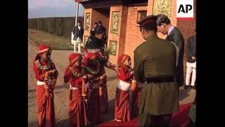 Nepal - Prince Charles arrives
