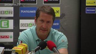 SK Sturm: Mediabriefing vor SV Ried (36. Runde 2014/15)