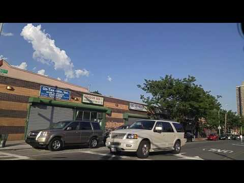 Driving by West Farms Bronx,New York