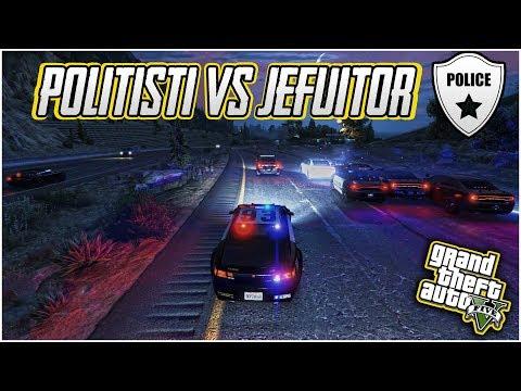 POLITISTI VS JEFUITOR! | GTA 5 FiveM | AM PRINS UN JEFUITOR ALATURI DE POLITIE!