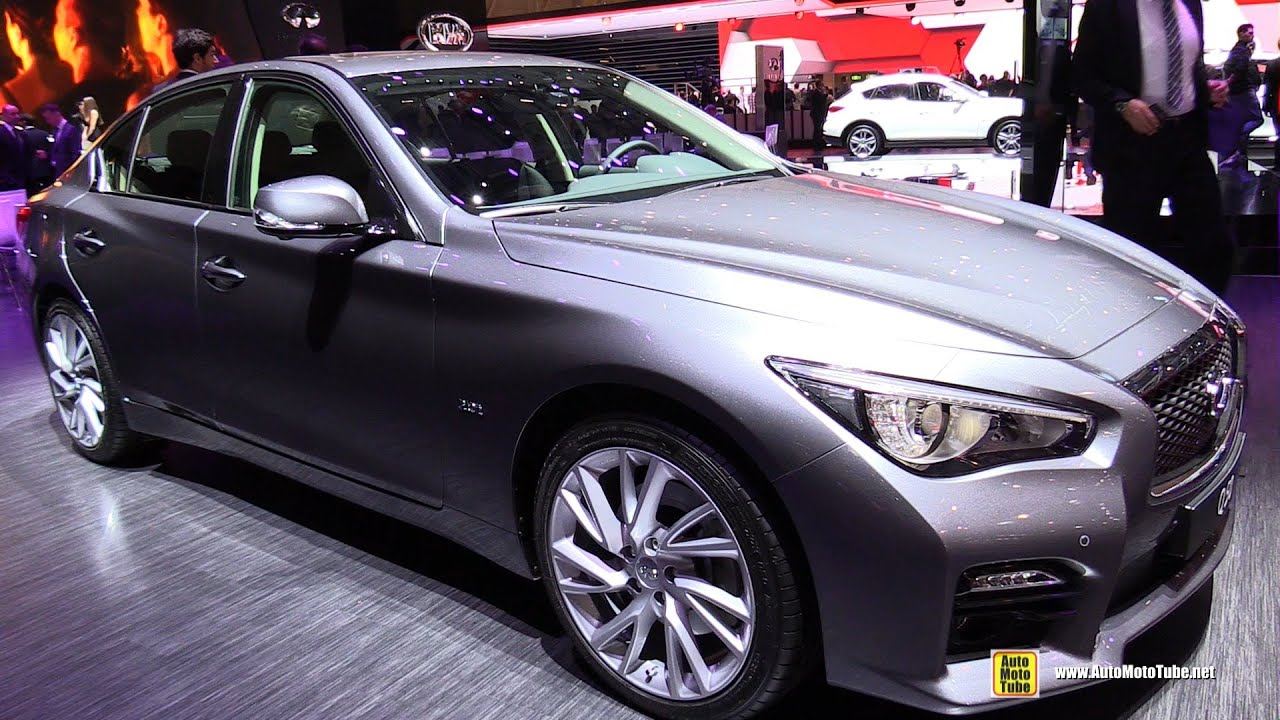 infiniti q50 exterior. 2015 infiniti q50 20t exterior and interior walkaround geneva motor show youtube