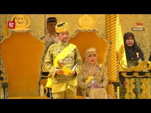 Brunei celebrates Sultan