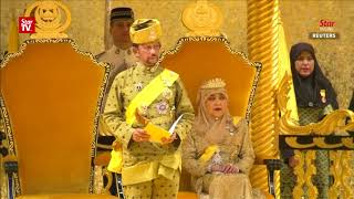 Brunei celebrates Sultan's golden jubilee