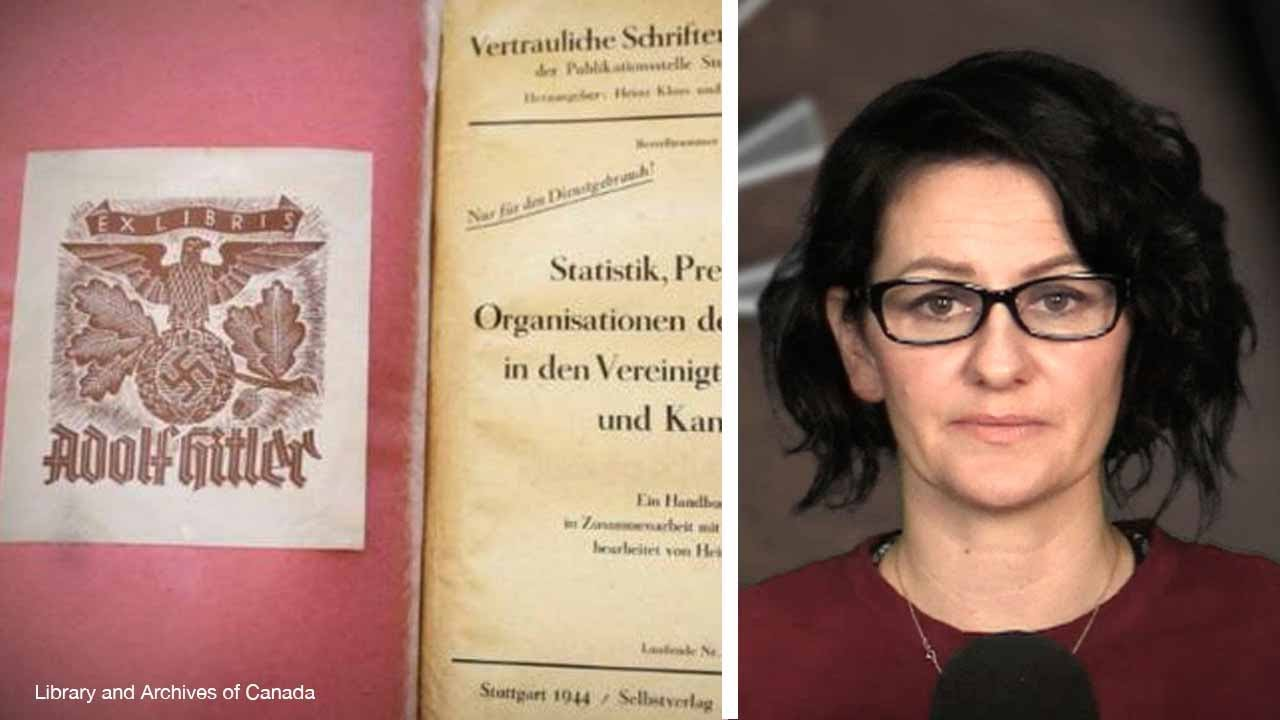 Library and Archives Canada buys $6,000 book allegedly owned by Hitler | Sheila Gunn Reid