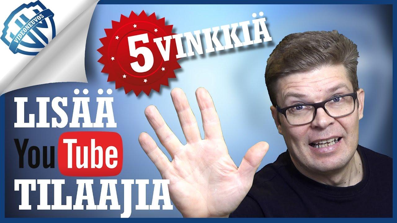 Youtube Kanavan Tilaaminen
